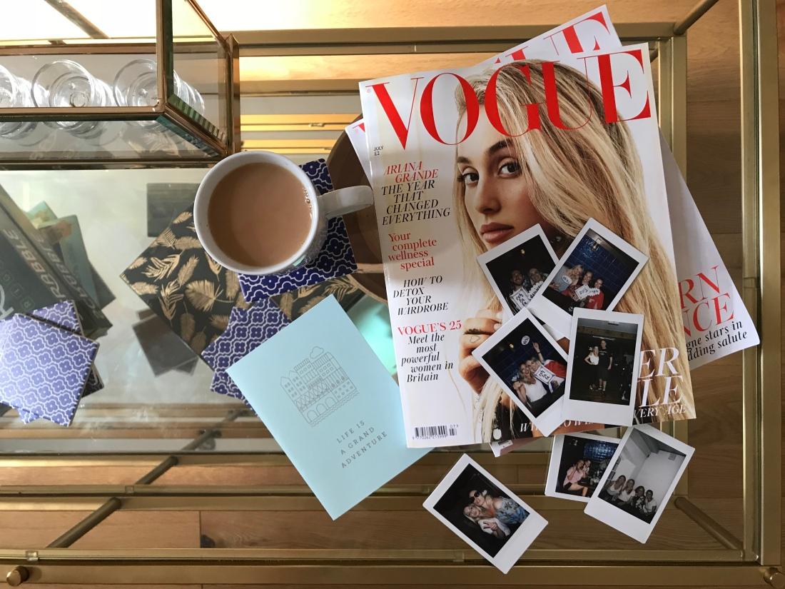 Vogue Flatlay