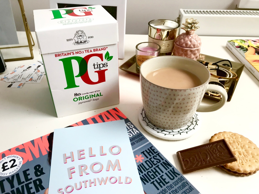 PG Tips & Biscuits